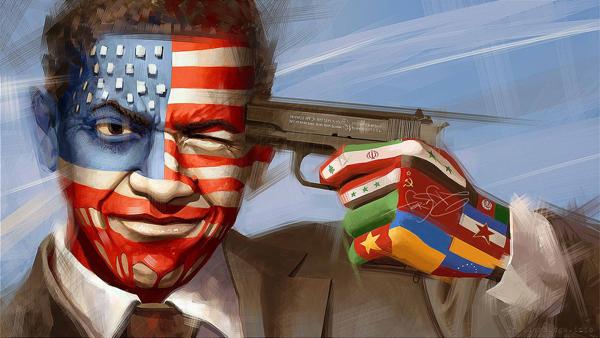 Мир приступает к дележу американского наследства