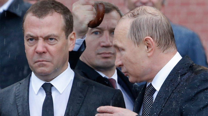 Зафиксировано рекордное падение рейтинга «Единой России»