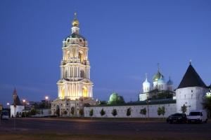 монастырь в Москве - Новоспасский