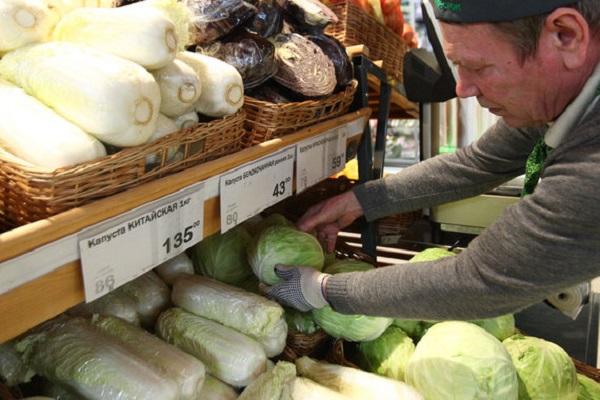 В России подешевело продовольствие – впервые за 12 месяцев