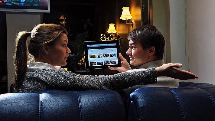 Новые технологии.Кино из Интернета.