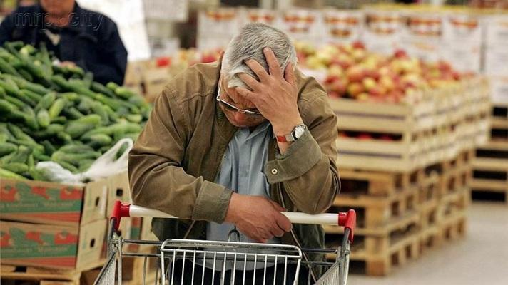 Рост цен с января по сентябрь