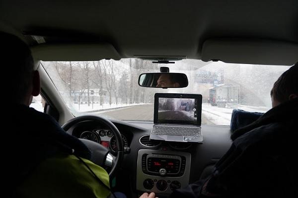 Скрытые патрули на дорогах Москвы. Репортаж