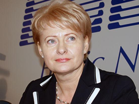 """Президент Литвы Даля Грибаускайте: """"Россия уже напала на Литву"""""""