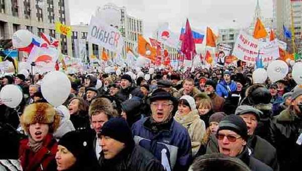 Возможна ли в России «цветная революция»?