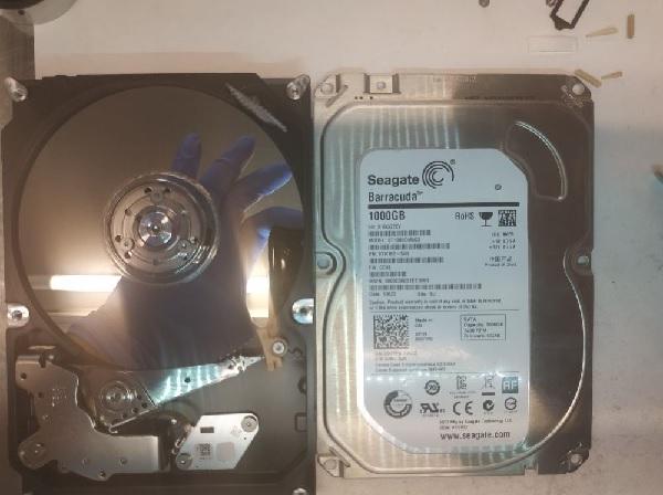 Восстановление жесткого диска seagate