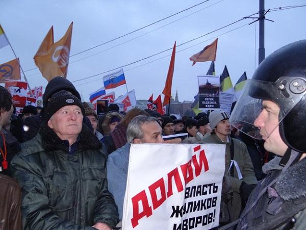 Сергей Шаргунов. Тюремный срок за мирный протест – это против закона и морали