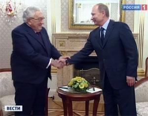 Последний визит Киссинджера в Москву и его встреча с Путиным