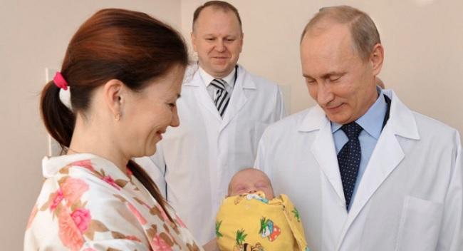 Путин решил проблему рождаемости: скоро детей в РФ будет некуда девать!