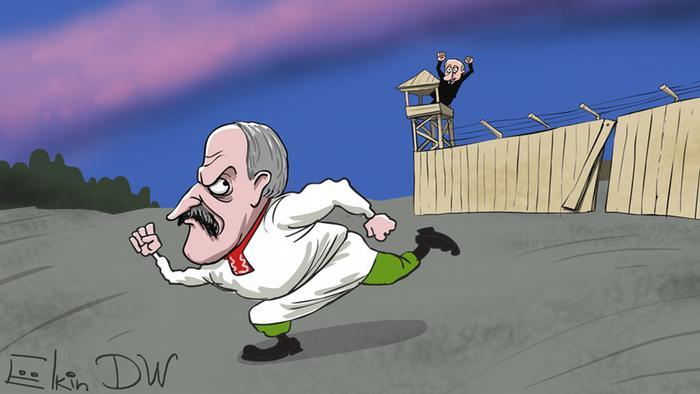 Россия Беларуси: «Так не доставайся ж ты никому!»