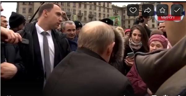 Петербурженка на встрече с президентом спросила Путина как прожить на 10 800 руб