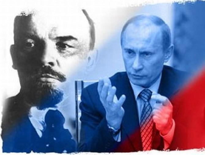 Владимир Путин против Владимира Ленина: чья же возьмет в итоге?