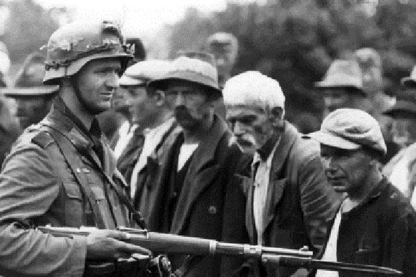 13 апреля 1941 года Сербская столица, город Белград, был сдан войскам вермахта без боя