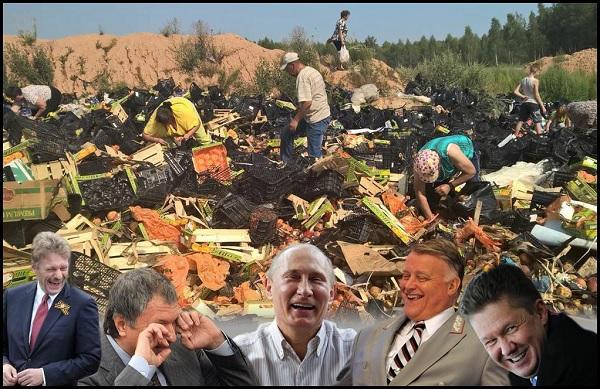 Началось уничтожение экономики РФ