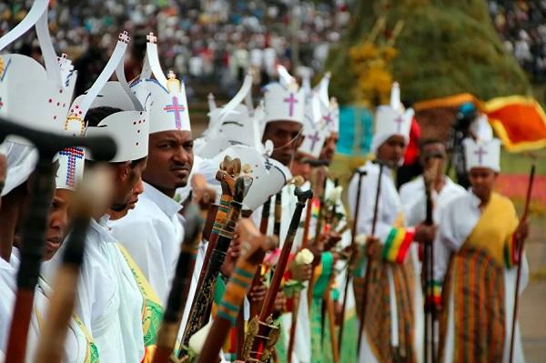 Счастливый народ Эфиопии
