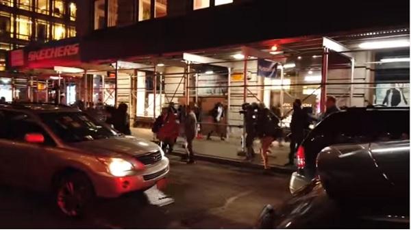 Нью-Йорк и ночь большого грабежа