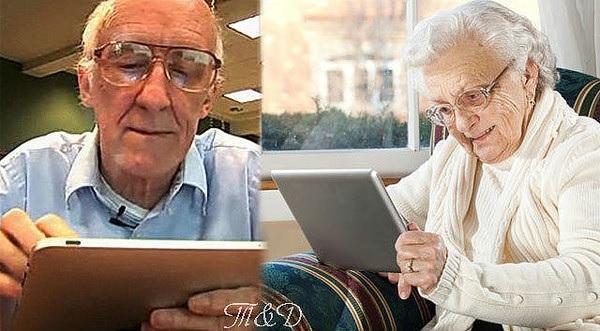 Старушка и интернет