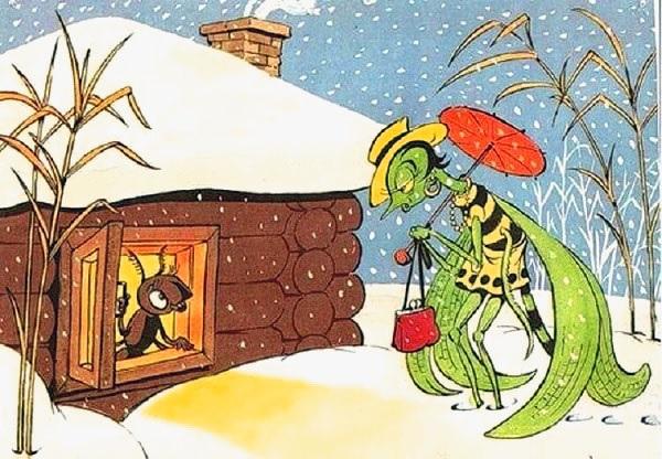 Сочинение «Стрекоза и муравей» — хит интернета