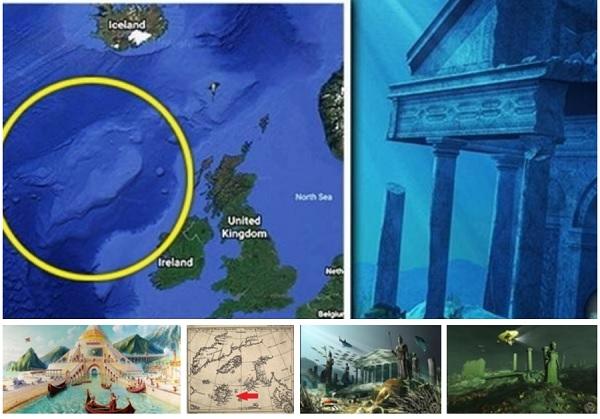 Затерянная Атлантида может располагаться недалеко от Ирландии?