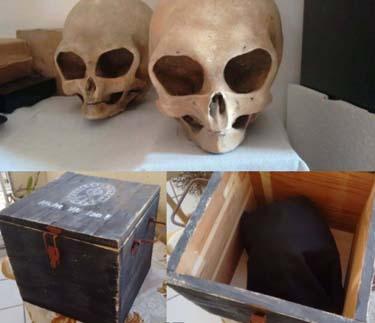 Археологи нашли кейс с логотипом «Аненербе» и загадочные черепа