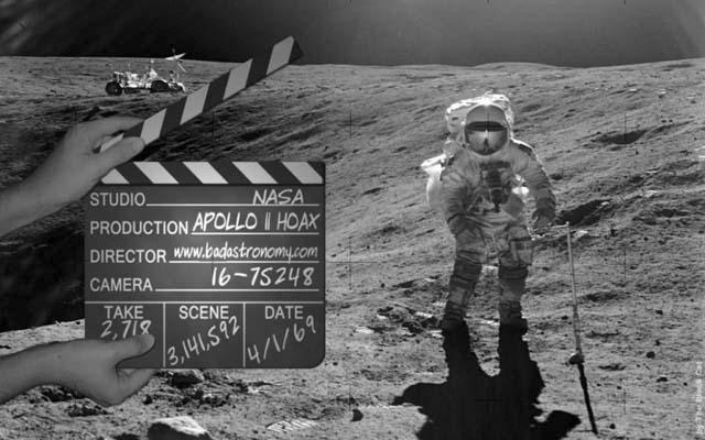 Высадка на Луну была подделана