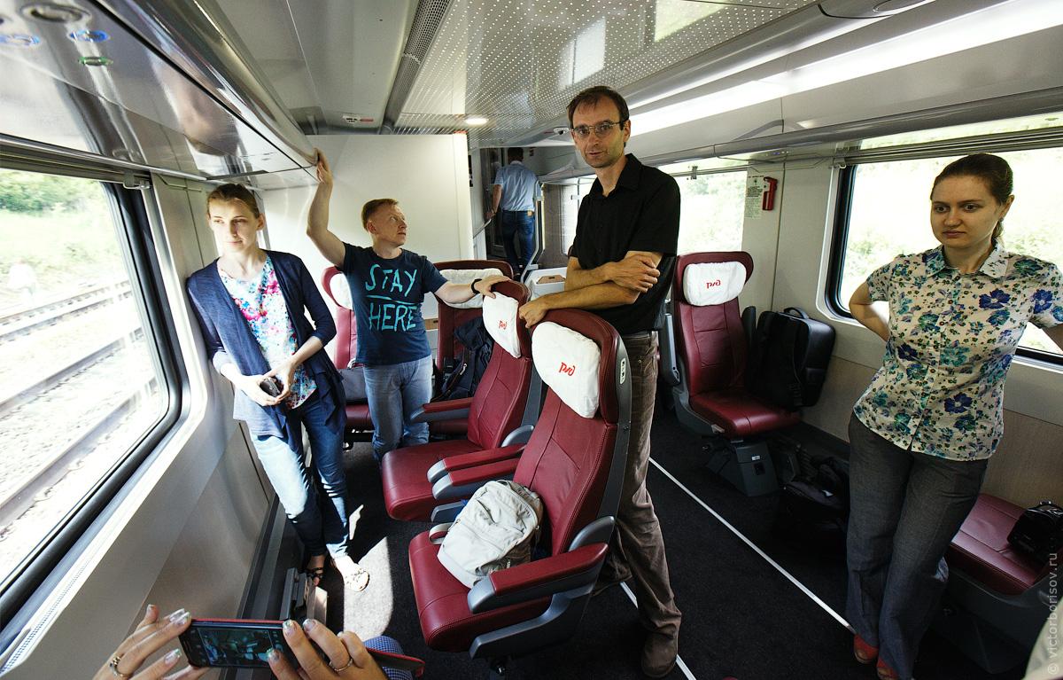Лучше, чем «сапсан». Обзор двухэтажного сидячего поезда «москва.