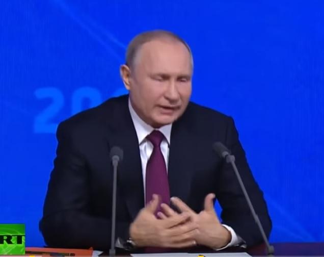 Главное с пресс-конференции Путина
