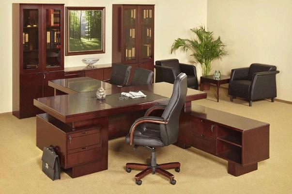 Компания Диал: новая мебель для кабинета руководителя