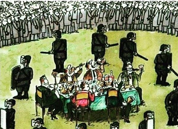 Народ сосредоточился на задаче «пережить эту власть».