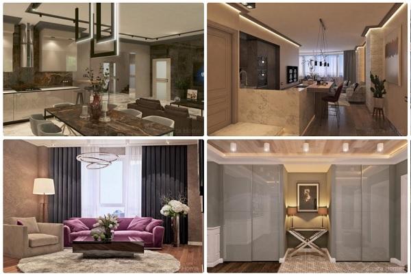 Дизайн интерьера от студии Zariza Art для гостиничного бизнеса