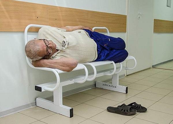 Сокращение больниц идет полным ходом