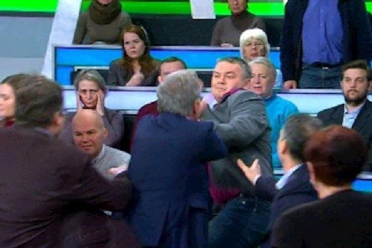 Нищета российской ТВ-политики: от слов к мордобою