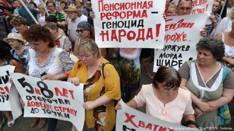 В России начался первый этап государственного переворота