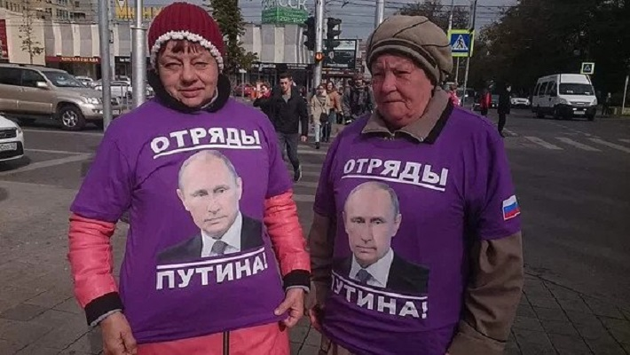 Портрет безусловного сторонника Путина