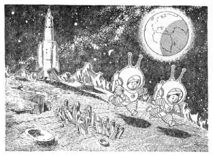 Незнайка на Луне и «Общество по выращиванию гигантских растений»