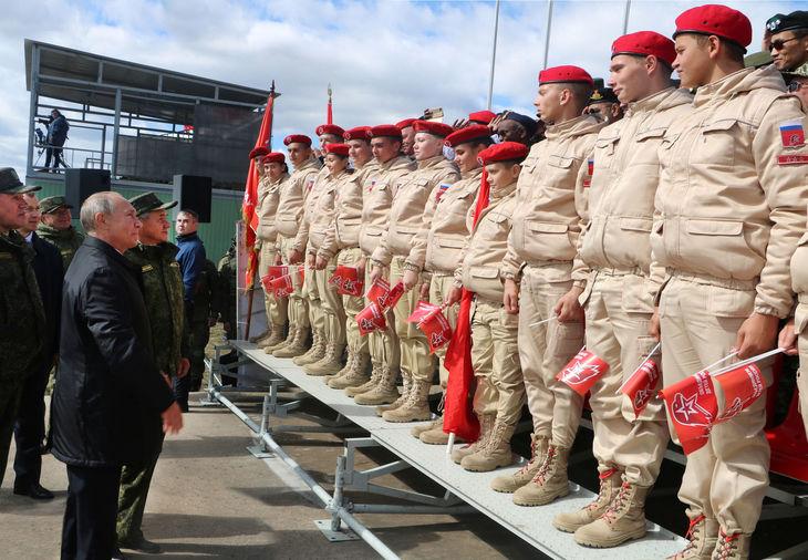 Сможет ли Юнармия Путина перевоспитать взбесившуюся молодёжь?