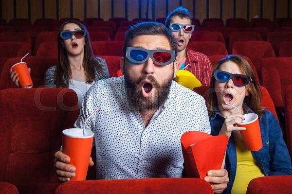 3D-формат и дождь в кинозале