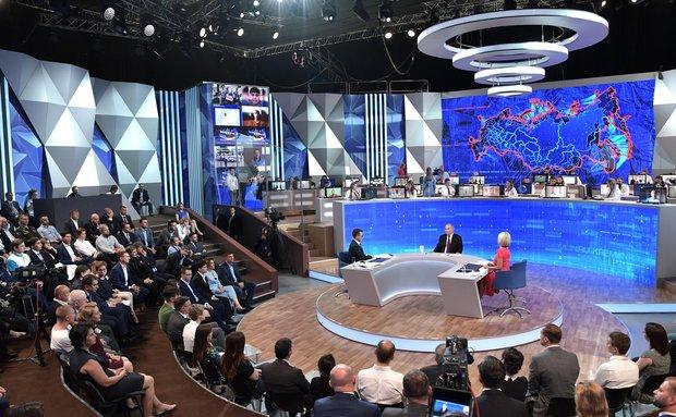 17-я прямая линия Путина: обратный эффект?