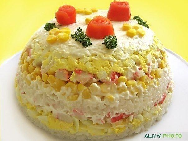 Торт-салат