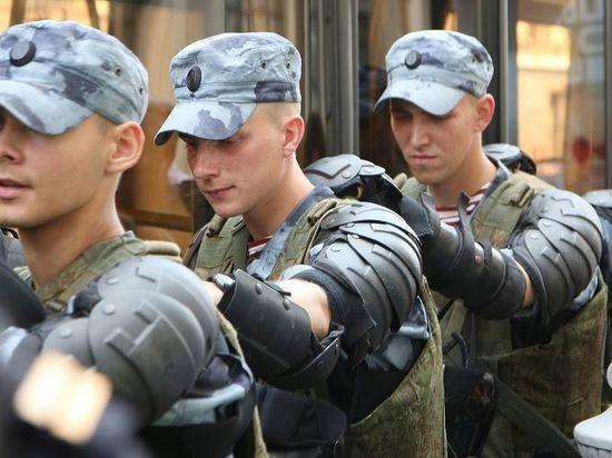 В Ульяновске группа людей избила росгвардейцев