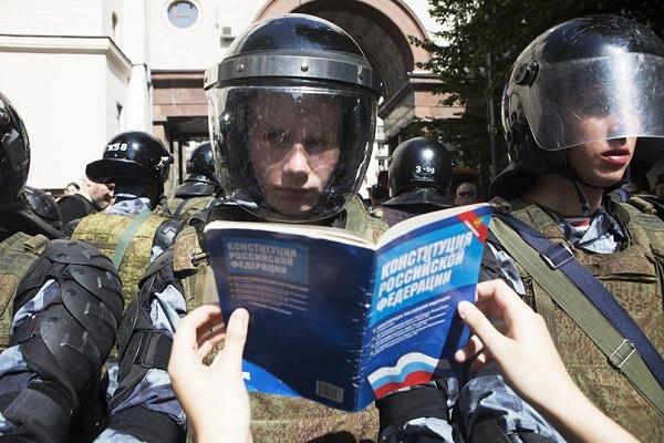 Законен ли закон о разгоне митингов?