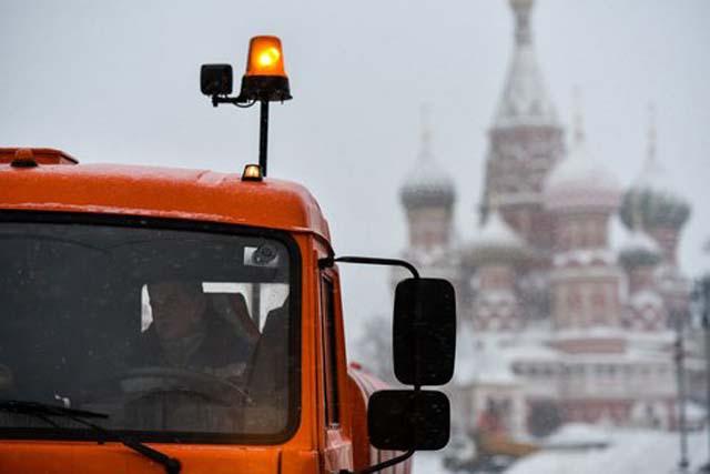 Зима в разгаре. Морозы не отступят от Москвы