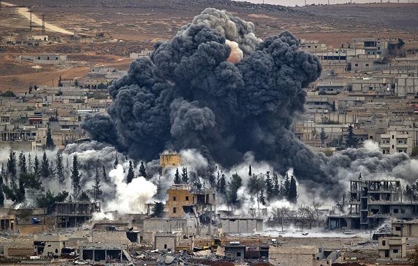 Сирийская головоломка, как ни крути , а получается ерунда