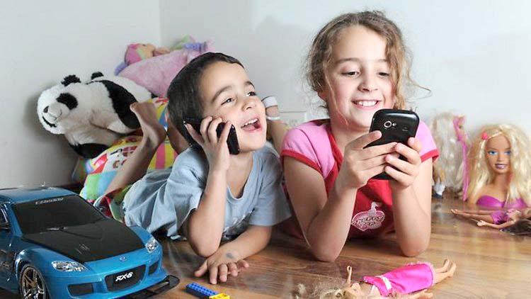 Мобильник и дети