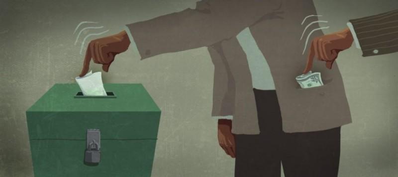 Новая политическая мода в России: лупить рублем за неправильное голосование