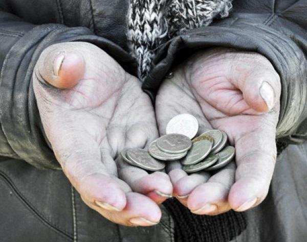 У нас бедных нет. У нас - нищие.