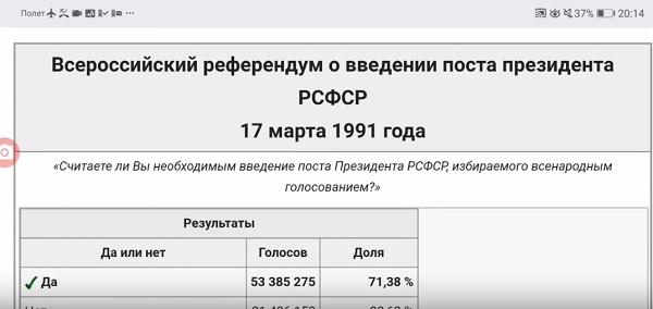 17 марта 1991г. было два Референдума! Один для СССР, другой - РСФСР