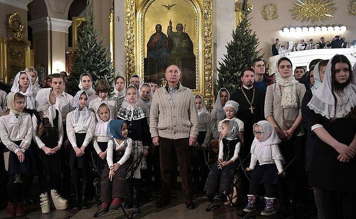 О чем думал Путин в ночь на Рождество?