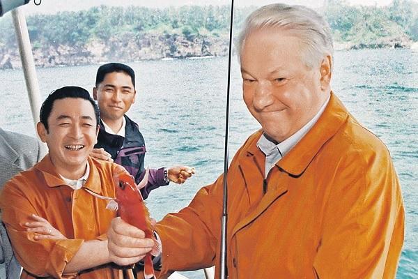 Сказка про рыбака-Ельцина и рыбку