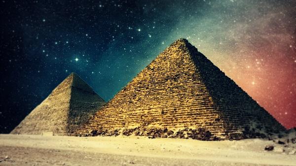 Пирамиды были созданы за пределами нашей планеты